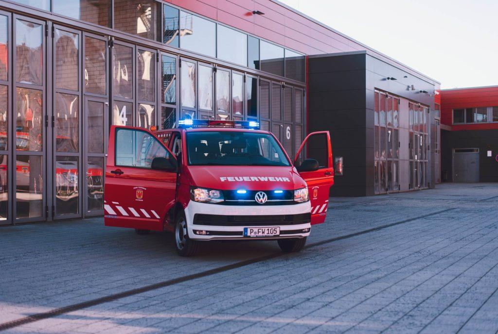 Neuer MTW Feuerwehr Potsdam Zentrum